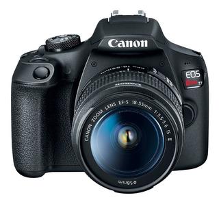 Camara Canon Eos Rebel T7 Kit 18-55mm Wifi 24mp Full Hd Gtia