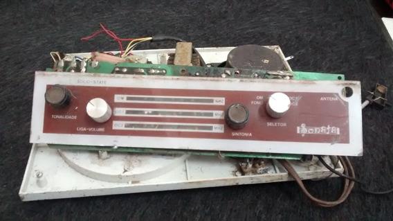 Vitrola E Radio Sonata Sucata Vendo No Estado