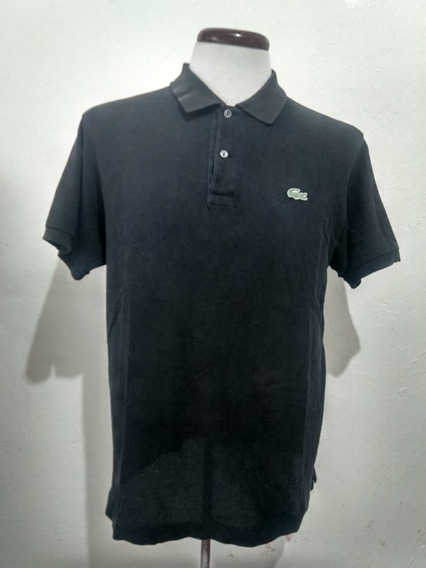 Polo Lacoste Negra Casuals Style