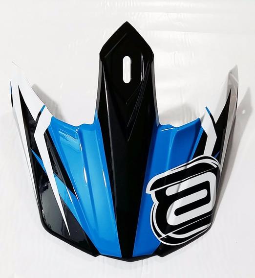 Visor (pala) Capacete Asw Image Race Azul Tamanho Pequeno (55/56cm)