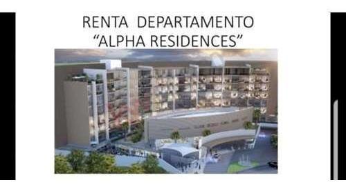Alpha Residences, Renta De Departamento Nuevo, 2 Recamaras, Amenidades, Sonata, Town Center,