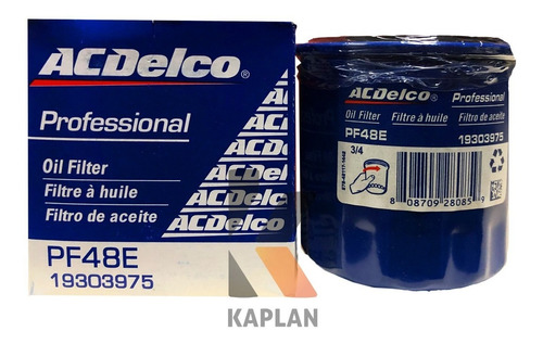 Filtro Aceite Pf48e Silverado Tahoe Avalanche Tienda Física