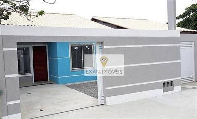 Lançamento! Casas Lineares Perto Da Rodovia No Jardim Mariléa, Rio Das Ostras. - Ca1055