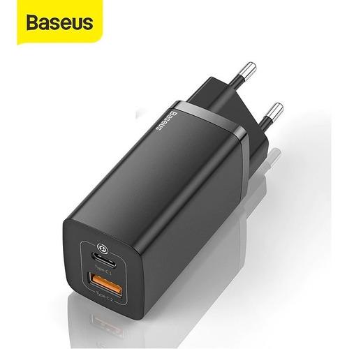 Carregador De Tomada Gan Turbo 65w iPhone 12 Pro Max Baseus
