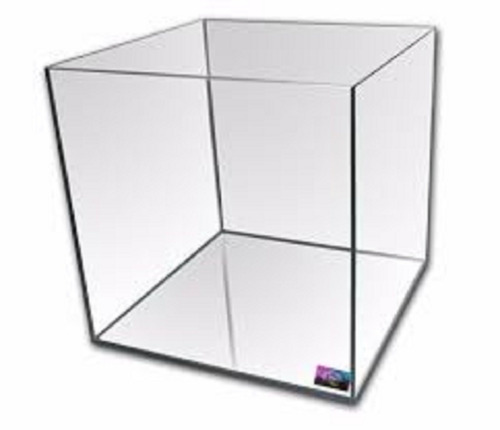 Pecera Mainar Vidrio Cubo 30 Cm 30x30x30 27l Polypterama