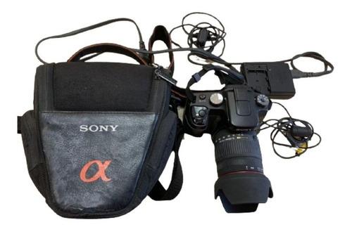 Câmera Profissional Sony Sigma Alpha A100 Qualidade Em Fotos