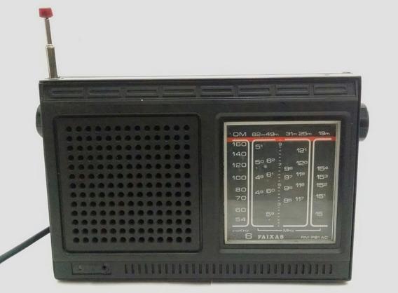 Radio Motobras Rm-p61 Ac Placa Para Desmanche Peças