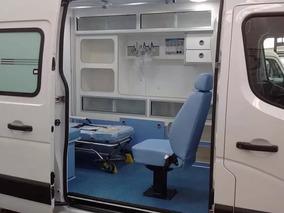 Master Ambulancia Uti L1h1 Simples Remoção 2019