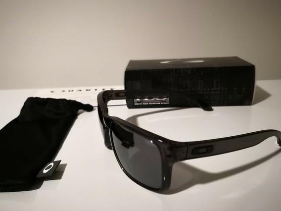 Gafas Oakley Gris Humo/negro Iridium, Oo9102-24
