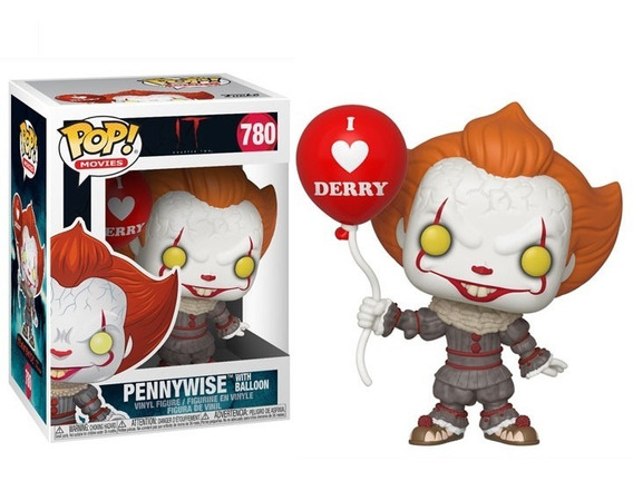 Funko Pop Pennywise With Ballon 780 It Chapter 2 Toylover