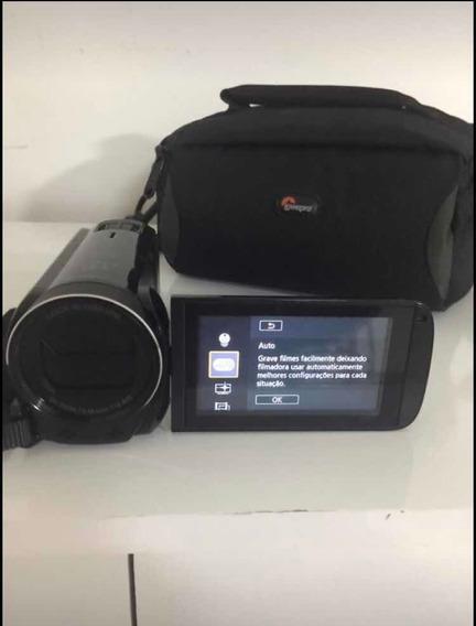Filmadora Canon Vixia Hf R700 Zoom X 57 Lcd 3