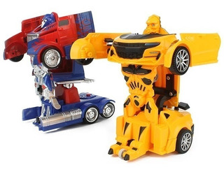 Vehículo Similar Transformers 15cms Bumblebee Optimus