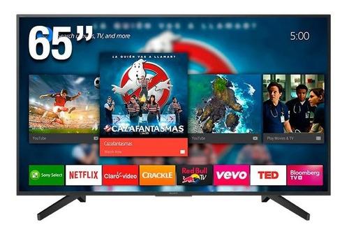 Imagen 1 de 5 de Tv 65  Sony Smart Hdr 4k Kd-65x735f Netflix Wifi