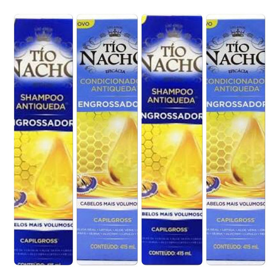Tio Nacho Engrossador 2 Unid Sh + 2 Unid Cond
