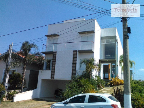 Casa Com 4 Dormitórios À Venda, 330 M² Por R$ 1.690.000,00 - Condomínio Terras De São Francisco - Vinhedo/sp - Ca0174