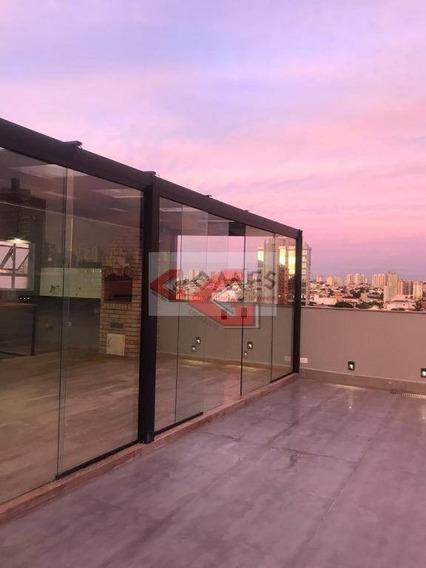 Cobertura Com 3 Dormitórios À Venda, 162 M² Por R$ 650.000,00 - Vila Marlene - São Bernardo Do Campo/sp - Co0192
