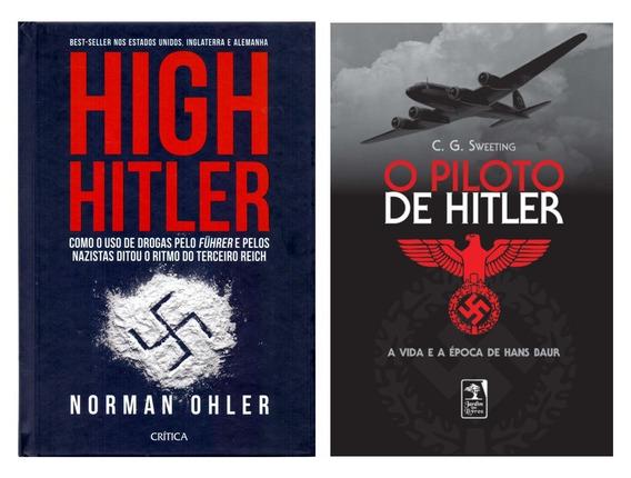 High Hitler & Piloto De Hitler Segunda Guerra + Frete Grátis