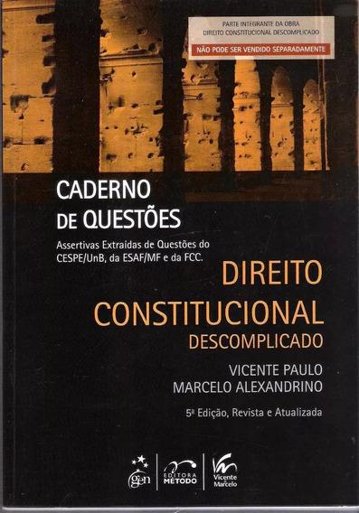Direito Constitucional Descomplicado - Vicente Paulo