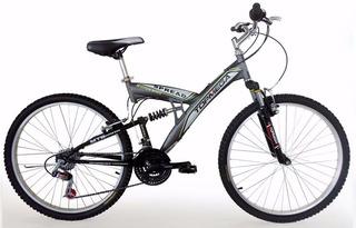Bicicleta Topmega Doble Suspension Spread Rodado 20 Envio