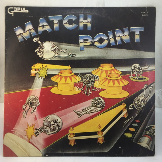 Gapul - Match Point - Dj - Vinilo Lp