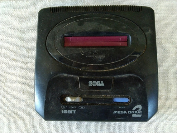 Video Game Mega Drive 2 Sega 16 Bit Só O Console Cod 3646