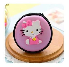 Porta Moedas Fone De Ouvido Ursinho Ou Hello Kitty