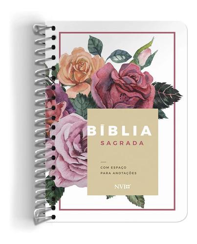 Bíblia Sagrada Feminina Mulher Espiral Anotações Anote