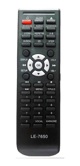 Controle Remoto Dvd Tectoy Dvt-f650 Dvt-f651 Dvt-f800
