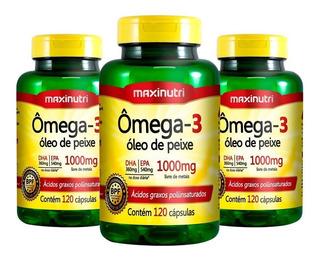 Ômega 3(3uni)- Maxinutri-frete Grátis