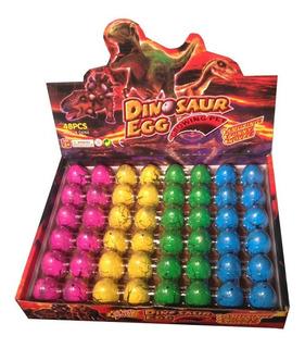 Huevos De Dinosaurios Caja De 48 Dinos Que Crecen En Agua