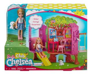 Barbie Mundo De Chelsea, Casa Del Árbol