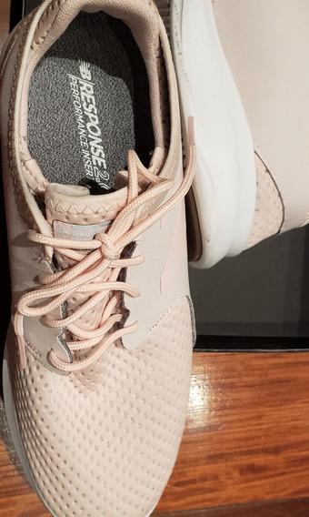 Zapatillas Sneaker New Balance Rosa Pálido Size 9 - Medium
