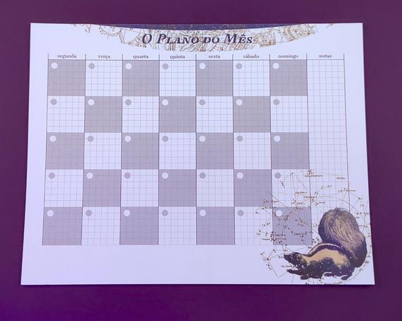 Planner De Mesa Mensal