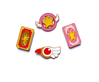 Prendedores Pins Sakura Card Captor