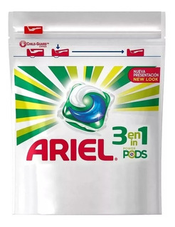 Ariel Jabon Para La Ropa Capsulas Power Pods X 31 Caps P&g