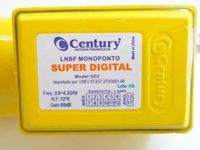 Lnbf Century Super Digital Monoponto (amarelo)