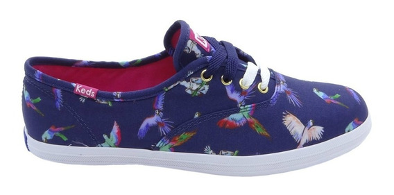 Tênis Keds Champion Birds Of Paradise Kd781003