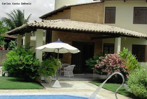 Casa Em Condomínio Para Venda Em Maceió, Ipioca, 3 Dormitórios, 1 Suíte, 3 Banheiros, 6 Vagas - Csmaceio01