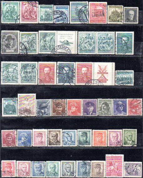 Checoslovaquia 1918/69. Colección Con 397 Sellos