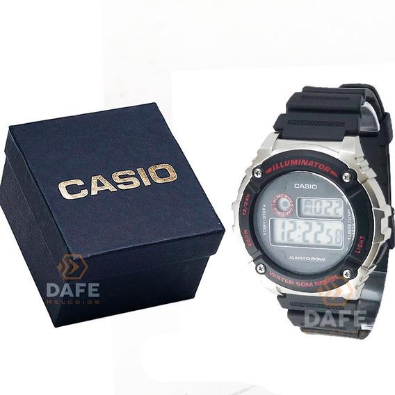Relógio Casio W-216 Digital Original C/ Caixa E Nf