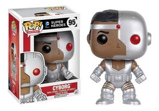 Funko Pop! Heroes Super Heroes Cyborg # 95 Original Replay