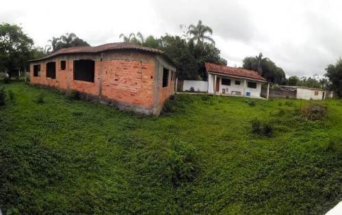 Chácara No Bairro Parque Serra Mar, Em Peruíbe. 6624-pc