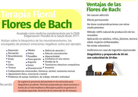 Flores De Bach 1 Gotero Personalizado