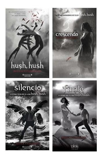 Saga Completa Hush, Hush (4 Libros) - Becca Fitzpatrick