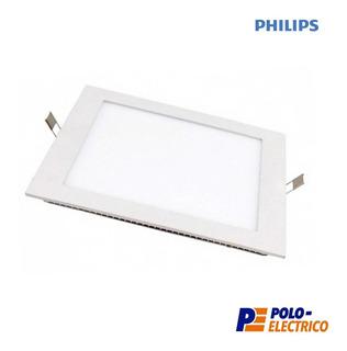 Plafon Led Philips 12w Embutir Techo Panel Cuadrado