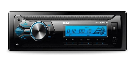 Stereo B52 52 W X4 Wma Mp3 Am Fm Usb Sd Bluetooth