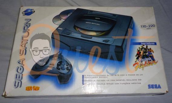 Vídeo Game Sega Saturno + Jogos