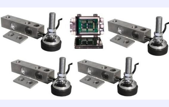 Kit Para Bascula Electronica 1 Ó 2 Toneladas