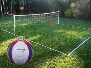 Malla Cancha Futbol Tenis Profesional Medidas Oficiales