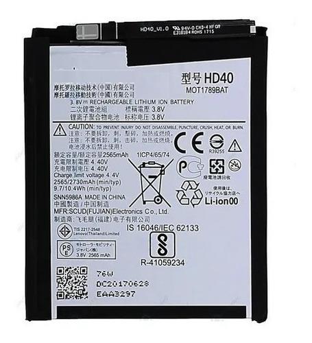 Batería Battery Para Motorola Moto Z2 Force Hd40